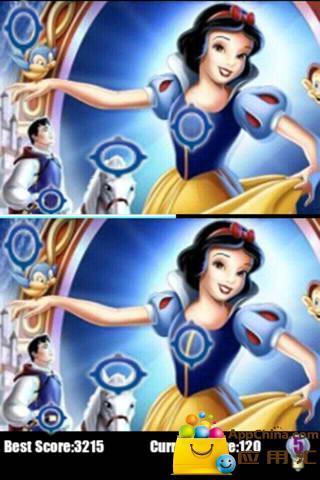 迪斯尼公主找找茬截图1