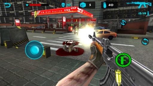 僵尸猎手:死亡射击截图1
