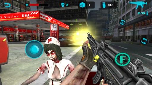 僵尸猎手:死亡射击截图2