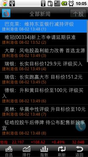 长江证券港股快车手机版截图1