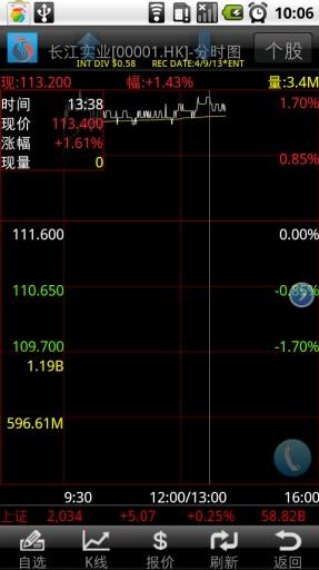 长江证券港股快车手机版截图4