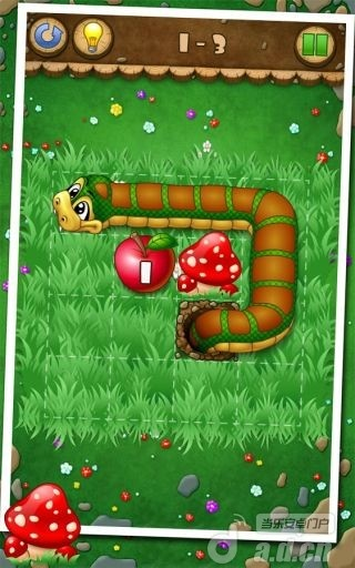 小蛇吃苹果截图1