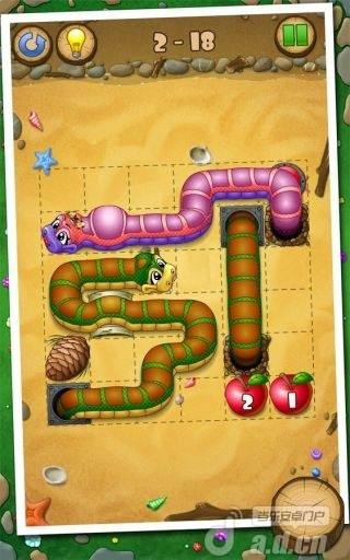 小蛇吃苹果截图4
