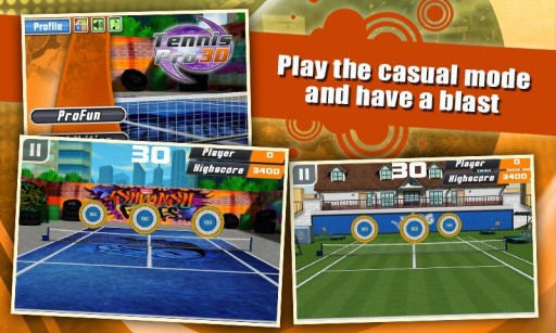 3D网球专业版截图1