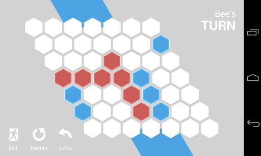 对边连线棋截图2