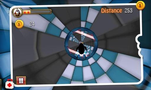 洞穴亞軍的3D賽車遊戲