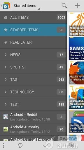 gReader Pro RSS阅读器