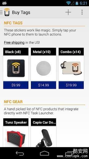 NFC Task Launcher截图0