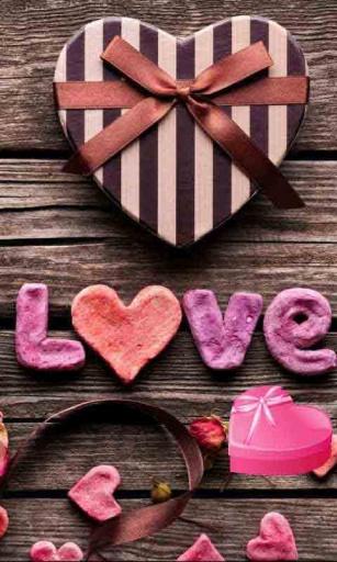巧克力情人动态壁纸