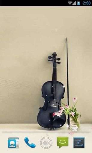 浪漫小提琴动态壁纸