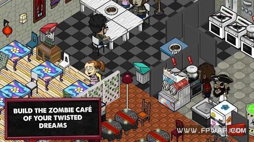 僵尸咖啡厅:Zombie Cafe