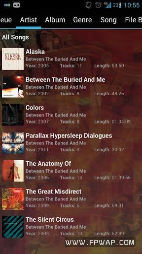 GoneMAD音乐播放器:GoneMAD Music Player截图1