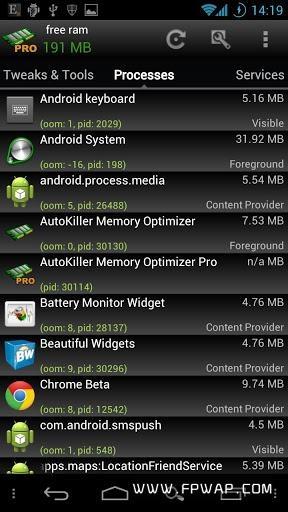 内存优化:AutoKiller Memory Optimizer截图3