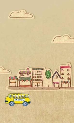 卡通校车动态壁纸|玩個人化App免費|玩APPs