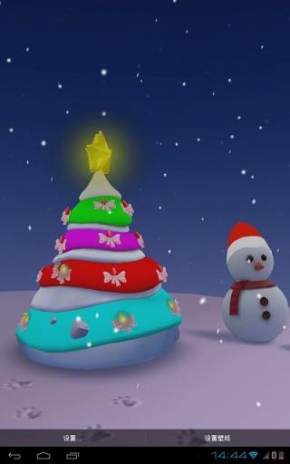 圣诞节3D壁纸