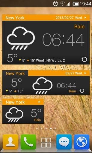 玩免費工具APP|下載GO天气-简约黑色主题 app不用錢|硬是要APP