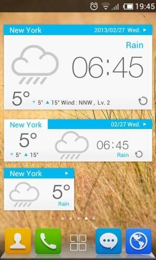 玩免費工具APP|下載GO天气-简约白色主题 app不用錢|硬是要APP