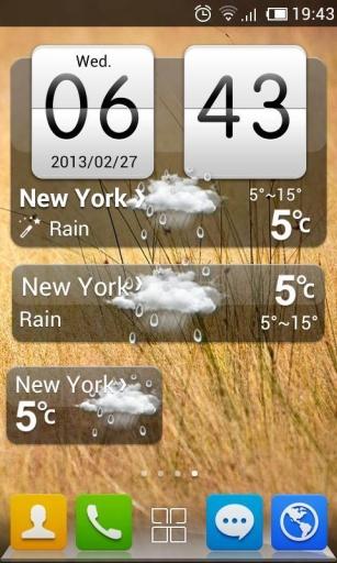 GO天气-HTC风格主题