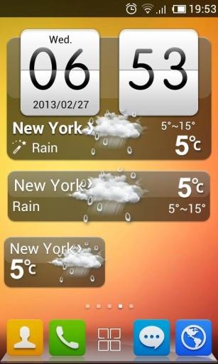 免費下載工具APP|GO天气-HTC风格主题 app開箱文|APP開箱王
