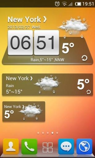 GO天气-简单风格主题|玩工具App免費|玩APPs