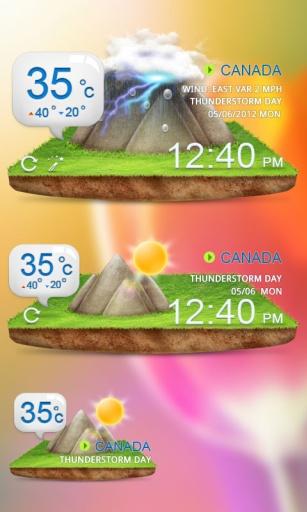 免費工具App|GO天气-清新风格主题|阿達玩APP