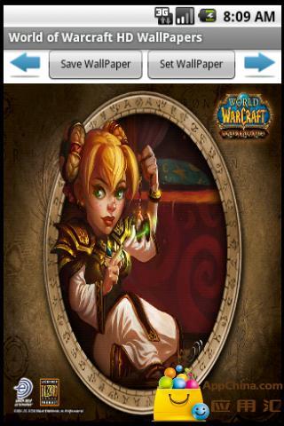 魔兽世界(WOW)高清壁纸 精美的交易卡截图1