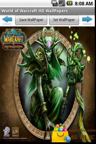 魔兽世界(WOW)高清壁纸 精美的交易卡截图2