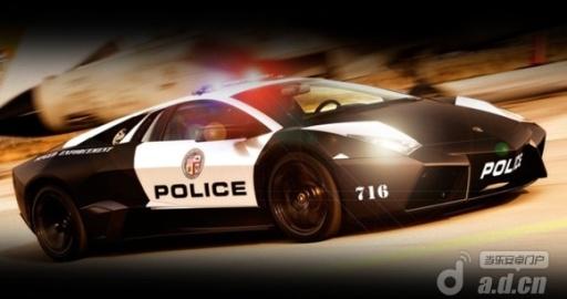 3D警车停车