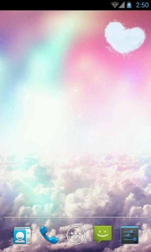 梦幻彩虹天空动态壁纸