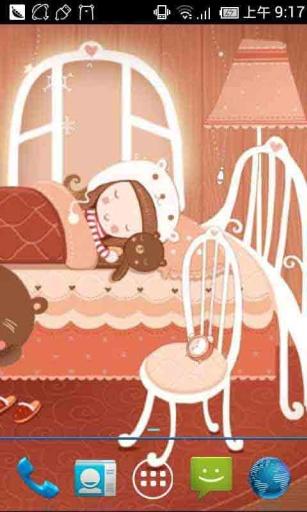 卡通小熊美梦动态壁纸 個人化 App-癮科技App