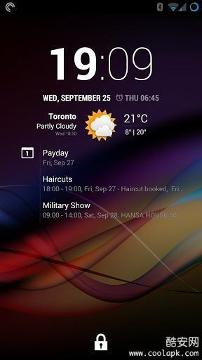 Chronus时钟天气截图0