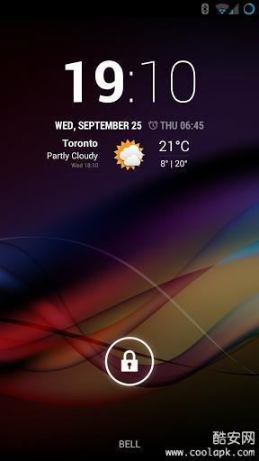 Chronus时钟天气截图1