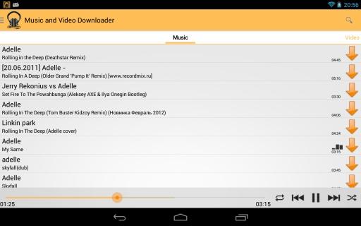 玩免費媒體與影片APP|下載Music and Video Downloader app不用錢|硬是要APP