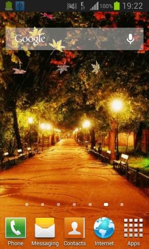 秋季街现场壁纸