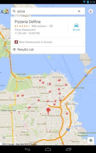 谷歌地图截图0