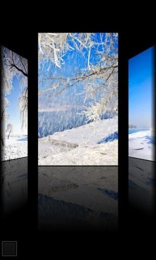 浪漫雪景动态壁纸截图2