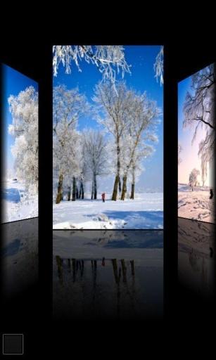 浪漫雪景动态壁纸截图3