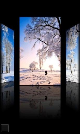 浪漫雪景动态壁纸截图4