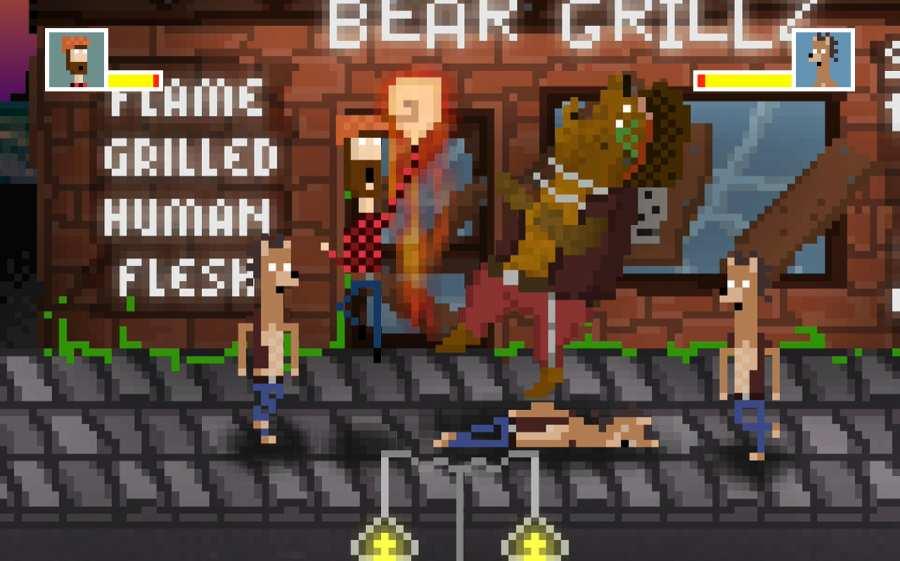 大笨熊看拳