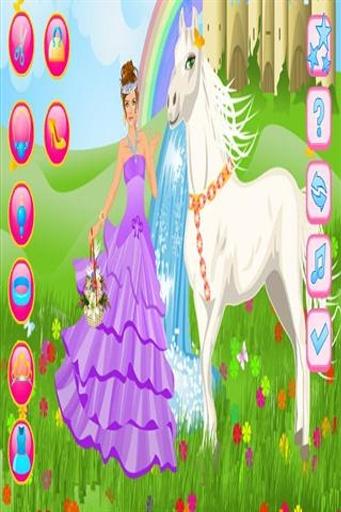 qq头像可爱公主和马