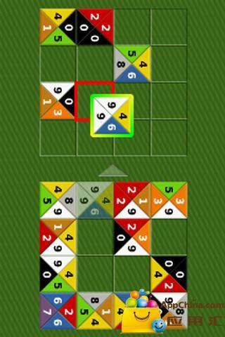 彩色方块对对碰截图1