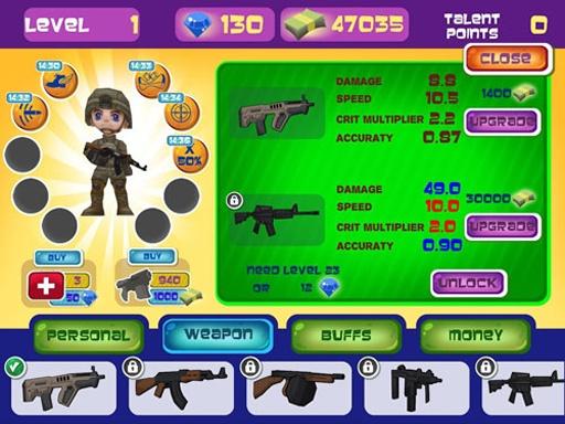 玩具巡逻射手3D;万圣节截图2