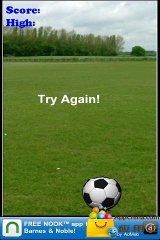 保持试自由足球