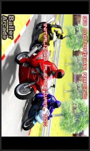 暴力3D急速摩托截图1