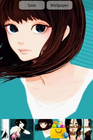 日本精选插画下集--动态壁纸版截图2