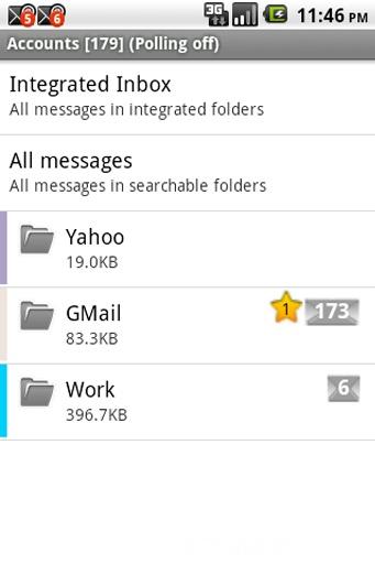 K-9 Mail邮件客户端截图0