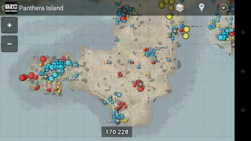 dayz地图中文版