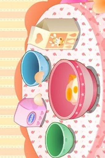 烘焙蛋糕游戏