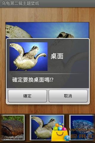 乌龟第二辑主题壁纸截图0