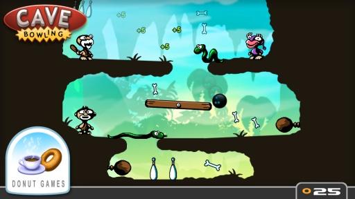 玩免費益智APP|下載洞穴保龄球 app不用錢|硬是要APP